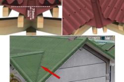 Ендова металлочерепичной крыши