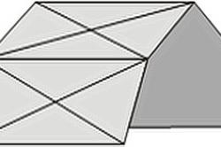 Определение формы будущей крыши