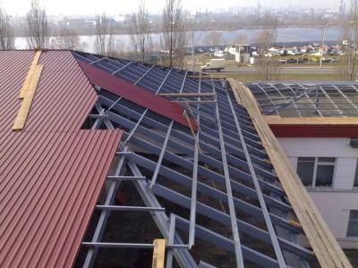 Каркас для металлочерепичной крыши