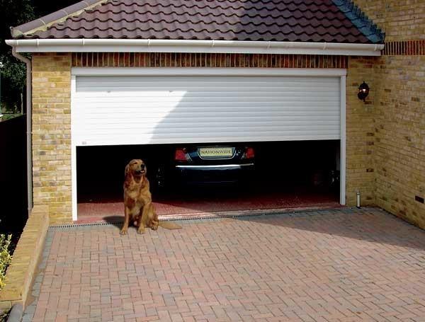 Крыша гаража.
