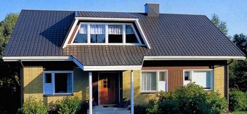 Сооружении крыши
