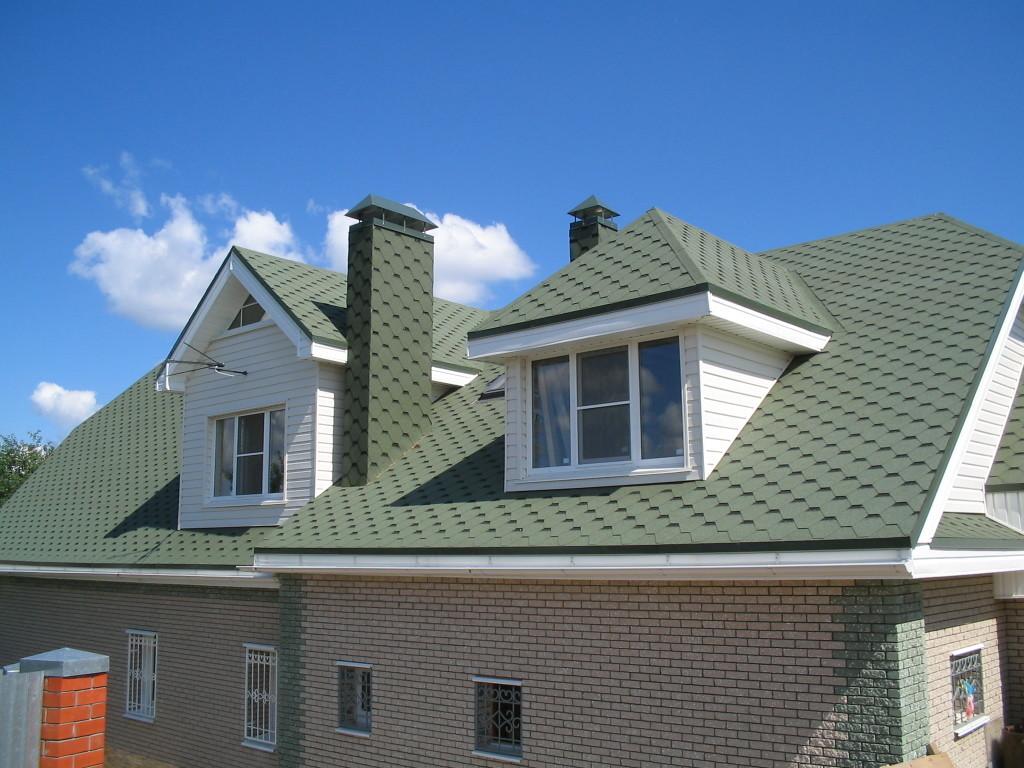 Форма крыши дома фото