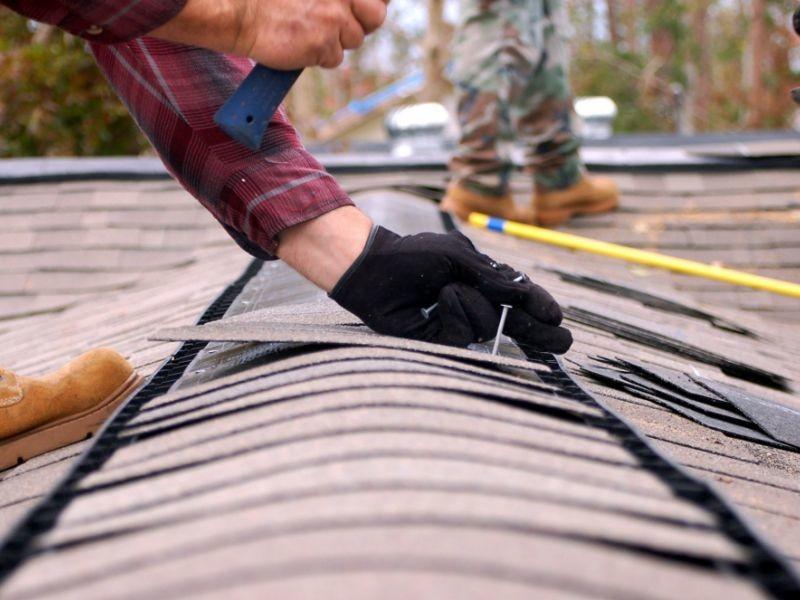Перекрытие крыши дома своими руками