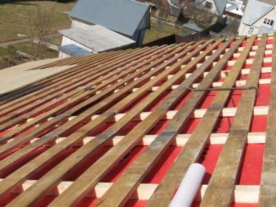 Покрытие крыши металлочерепицей своими руками