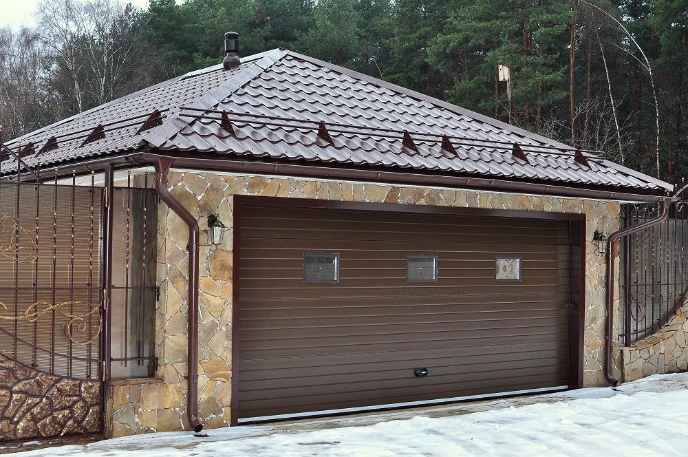 Крыша гараж железо гараж цельносварной купить